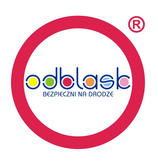 ODBLASK bezpieczni na drodze - logotyp/zdjęcie