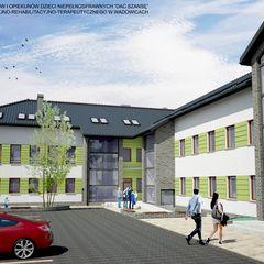 Budowa Centrum Edukacyjno-Rehabilitacyjno-Terapeutycznego w Wadowicach