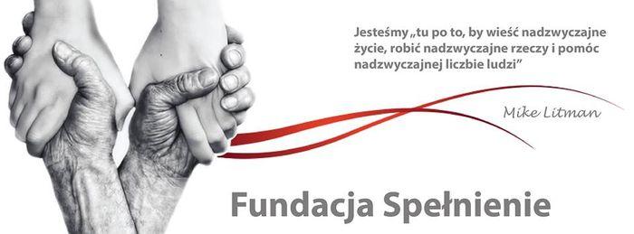 Fundacja Spełnienie - logotyp/zdjęcie