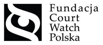 Fundacja Court Watch Polska - logotyp/zdjęcie