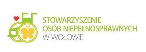 Stowarzyszenie Osób Niepełnosprawnych w Wołowie - logotyp/zdjęcie