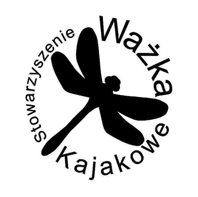 Stowarzyszenie Kajakowe Ważka - logotyp/zdjęcie
