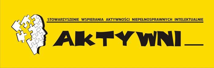 Stowarzyszenie Wspierania Aktywności Niepełnosprawnych Intelektualnie AKTYWNI - logotyp/zdjęcie