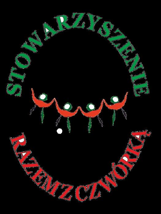 """Stowarzyszenie na rzecz Dzieci i Młodzieży z Niepełnosprawnością Intelektualną """"Razem z Czwórką"""" przy SOSW nr 4 w Krakowie - logotyp/zdjęcie"""