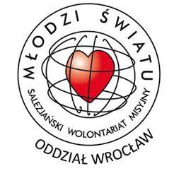 Salezjański Wolontariat Misyjny Młodzi Światu Oddział we Wrocławiu - logotyp/zdjęcie