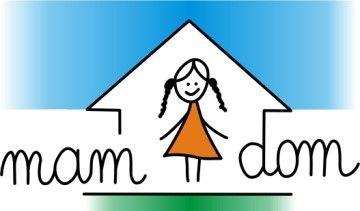 Fundacja MAM DOM - logotyp/zdjęcie