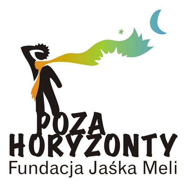Fundacja Jaśka Meli Poza Horyzonty - logotyp/zdjęcie