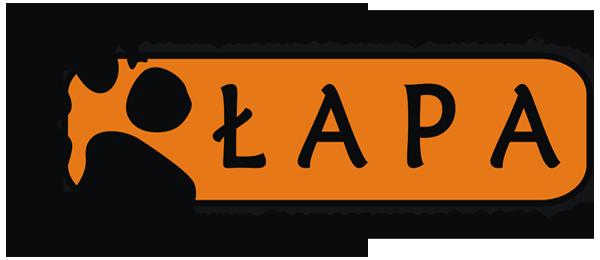 """Stowarzyszenie Pomocy Zwierzętom """"ŁAPA"""" - logotyp/zdjęcie"""