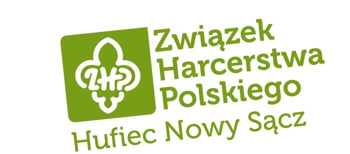 Hufiec ZHP Nowy Sącz - logotyp/zdjęcie