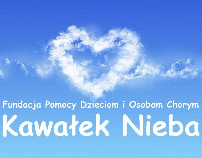 """Fundacja Pomocy Dzieciom i Osobom Chorym """"Kawałek Nieba"""" - logotyp/zdjęcie"""