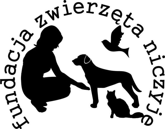Fundacja Zwierzęta Niczyje - logotyp/zdjęcie