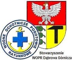 Wodne Ochotnicze Pogotowie Ratunkowe w Dabrowie Górniczej - logotyp/zdjęcie