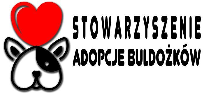 Stowarzyszenie Adopcje Buldożków - logotyp/zdjęcie