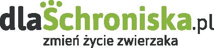 dlaSchroniska.pl - zmień życie zwierzaka! - logotyp/zdjęcie