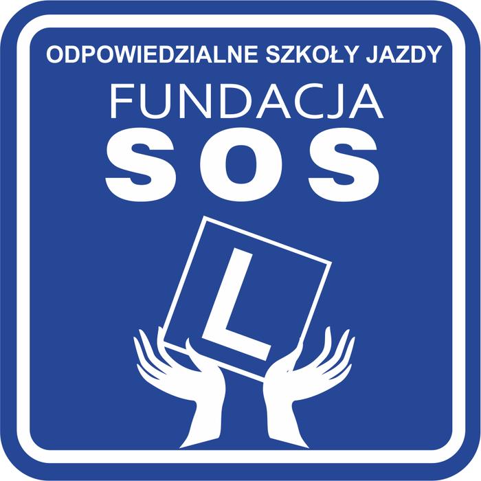 Fundacja SOS Odpowiedzialne Szkoły Jazdy - logotyp/zdjęcie