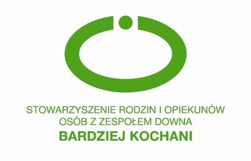 Stowarzyszenie Rodzin i Opiekunów Osób z Zespołem Downa Bardziej Kochani - logotyp/zdjęcie