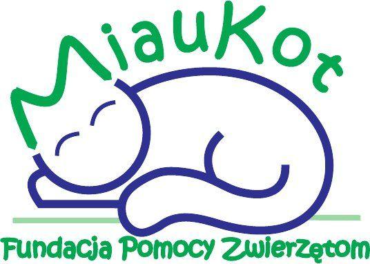 Fundacja Pomocy Zwierzętom Miaukot - logotyp/zdjęcie