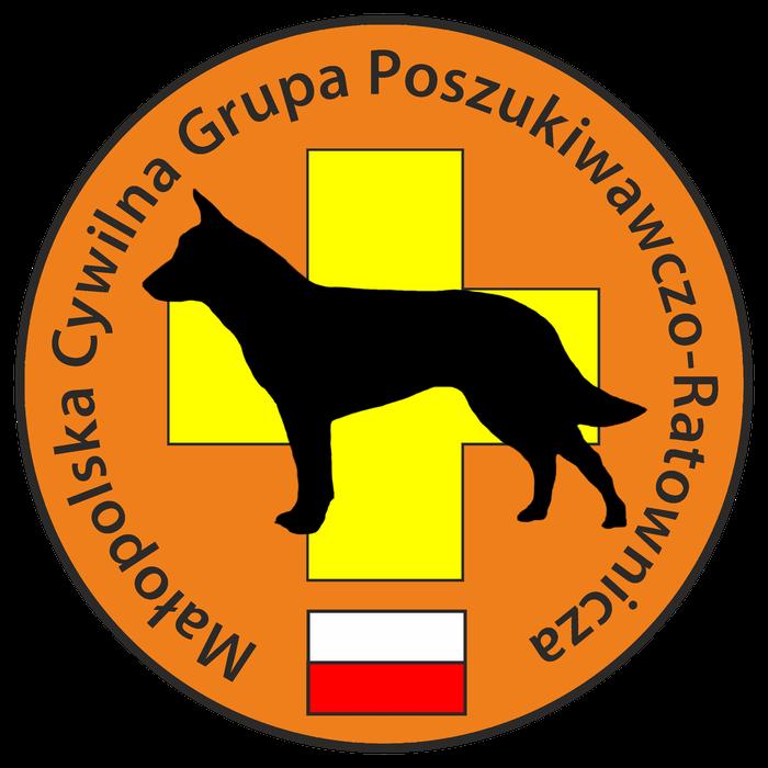 Małopolska Cywilna Grupa Poszukiwawczo - Ratownicza - logotyp/zdjęcie