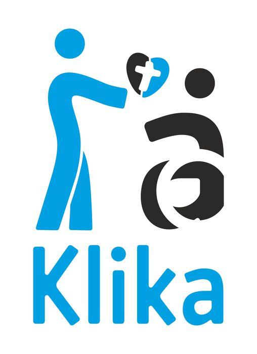 """""""Klika"""" - Katolickie Stowarzyszenie Osób Niepełnosprawnych i Ich Przyjaciół - logotyp/zdjęcie"""