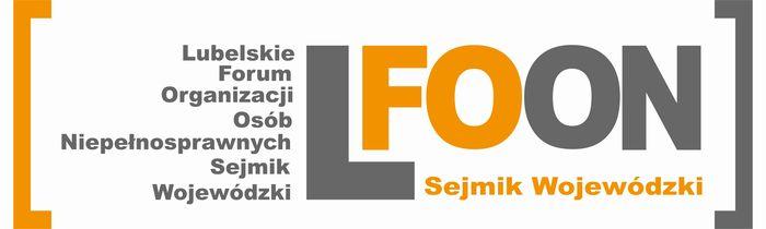 Lubelskie Forum Organizacji Osób Niepełnosprawnych-Sejmik Wojewódzki - logotyp/zdjęcie