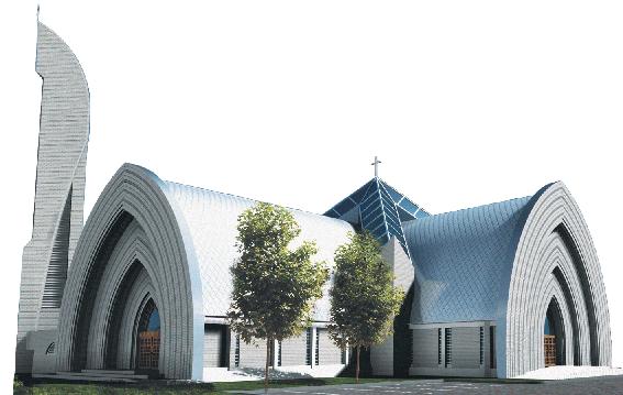 Parafia św. Jakuba Apostoła w Łebie - logotyp/zdjęcie