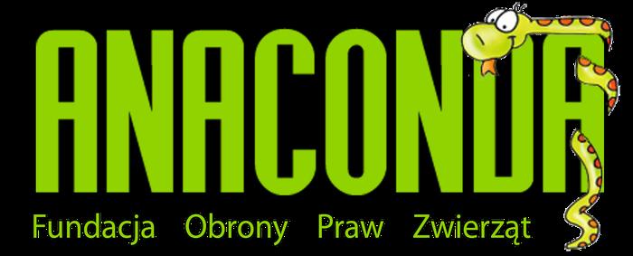 Fundacja Obrony Praw Zwierząt ANACONDA - logotyp/zdjęcie