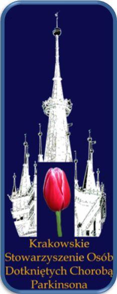 Krakowskie Stowarzyszenie Osob Dotkniętych Chorobą Parkinsona - logotyp/zdjęcie
