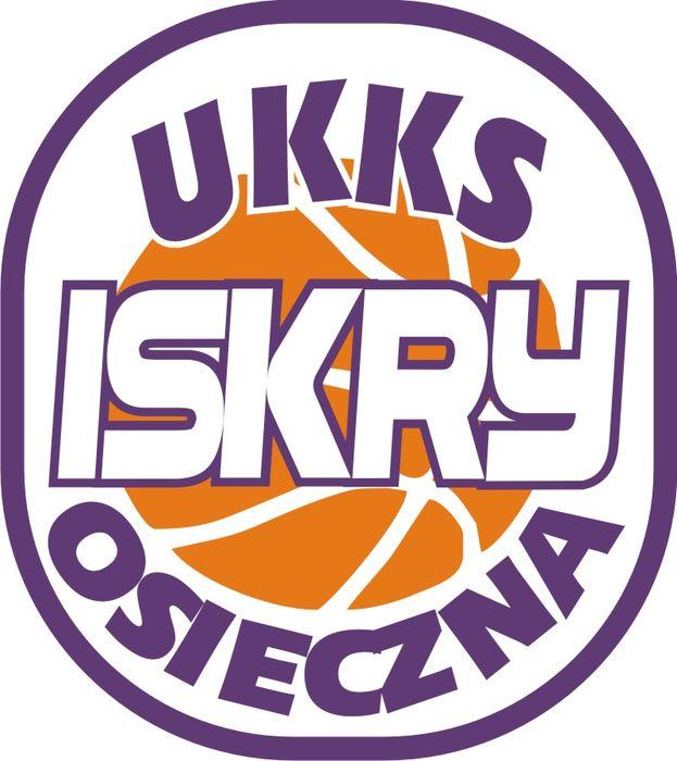"""Uczniowski Koszykarski Klub Sportowy """"ISKRY"""" - logotyp/zdjęcie"""