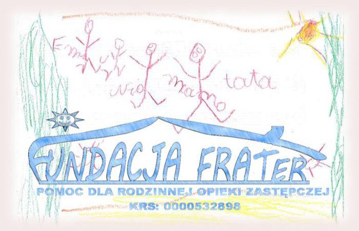 FUNDACJA FRATER POMOC DLA RODZINNEJ OPIEKI ZASTĘPCZEJ - logotyp/zdjęcie