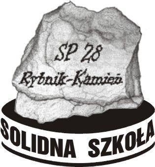 Szkoła Podstawowa nr 28 im. Alojzego Szewczyka w Rybniku - logotyp/zdjęcie