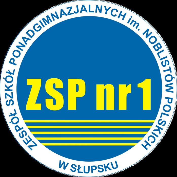 Zespół Szkół Ponadgimnazjalnych nr 1 w Słupsku - logotyp/zdjęcie