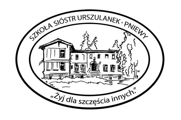 Zespół Szkół Sióstr Urszulanek SJK w Pniewach - logotyp/zdjęcie