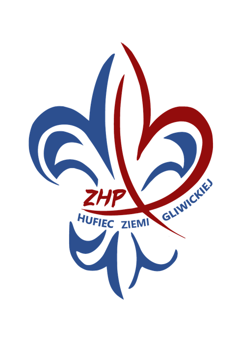 ZHP Chorągiew Śląska Hufiec Ziemi Gliwickiej - logotyp/zdjęcie