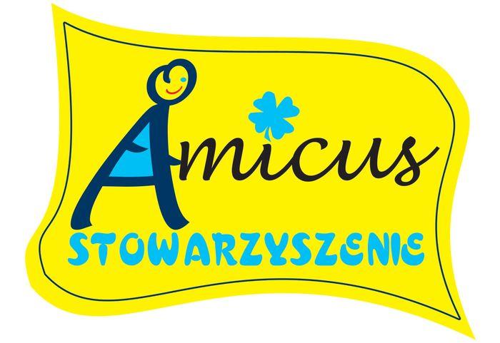 STOWARZYSZENIE NA RZECZ WSPOMAGANIA ROZWOJU OSÓB NIEPEŁNOSPRAWNYCH AMICUS - logotyp/zdjęcie
