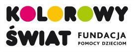 Fundacja Kolorowy Świat - logotyp/zdjęcie