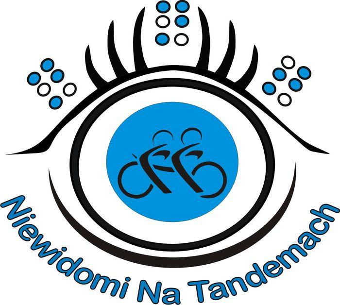Fundacja Niewidomi Na Tandemach - logotyp/zdjęcie
