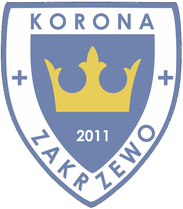 Stowarzyszenie Klub Sportowy Korona Zakrzewo - logotyp/zdjęcie