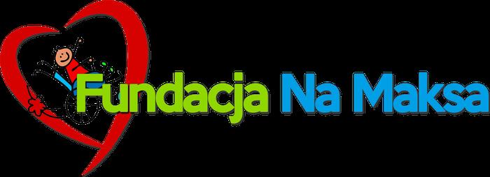 Fundacja Na Maksa - logotyp/zdjęcie