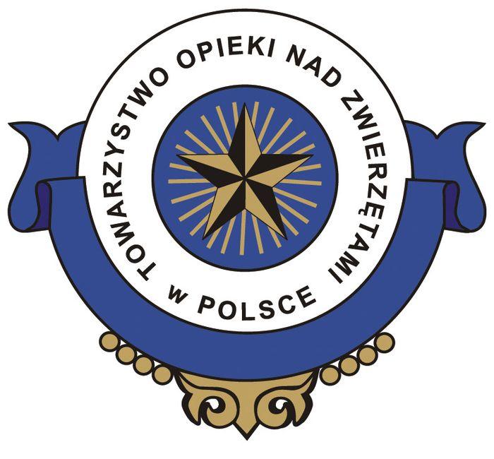 Towarzystwo Opieki nad Zwierzętami w Polsce Oddział we Wronkach - logotyp/zdjęcie