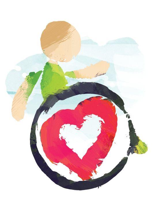 Stowarzyszenie Rodziców i Opiekunów Dzieci Niepełnosprawnych w Wadowicach - logotyp/zdjęcie