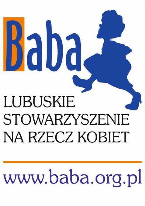 Lubuskie Stowarzyszenie na Rzecz Kobiet BABA - logotyp/zdjęcie