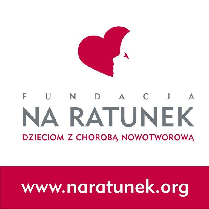 """Fundacja """"Na Ratunek Dzieciom z Chorobą Nowotworową""""  - logotyp/zdjęcie"""