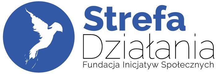 """Fundacja Inicjatyw Społecznych """"Strefa Działania"""" - logotyp/zdjęcie"""
