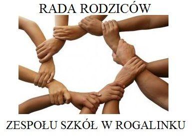 Rada Rodziców Zespołu Szkół w Rogalinku - logotyp/zdjęcie