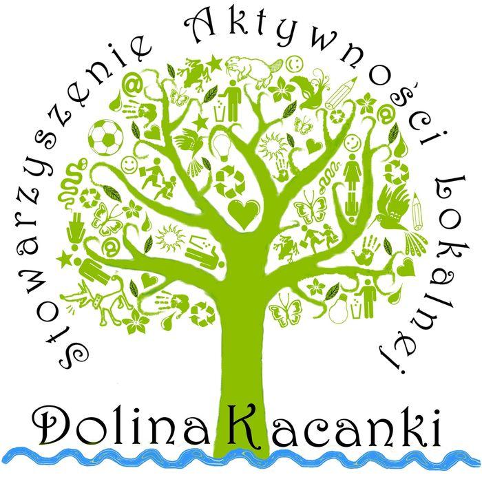 """Stowarzyszenie Aktywności Lokalnej """"Dolina Kacanki"""" - logotyp/zdjęcie"""