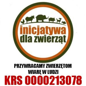 """Stowarzyszenie """"Inicjatywa dla Zwierząt"""" - logotyp/zdjęcie"""