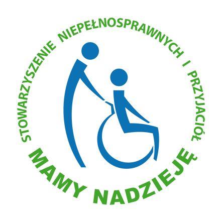 """Stowarzyszenie Niepełnosprawnych i Przyjaciół """"MAMY NADZIEJĘ"""" - logotyp/zdjęcie"""