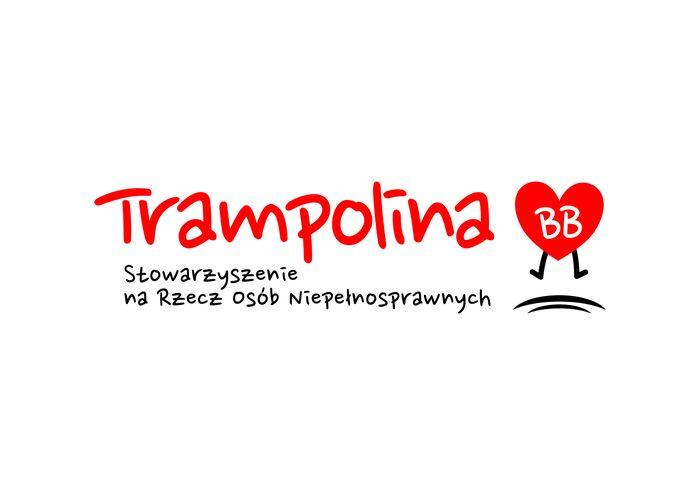 """Stowarzyszenie na Rzecz Osób Niepełnosprawnych """"Trampolina BB"""" - logotyp/zdjęcie"""