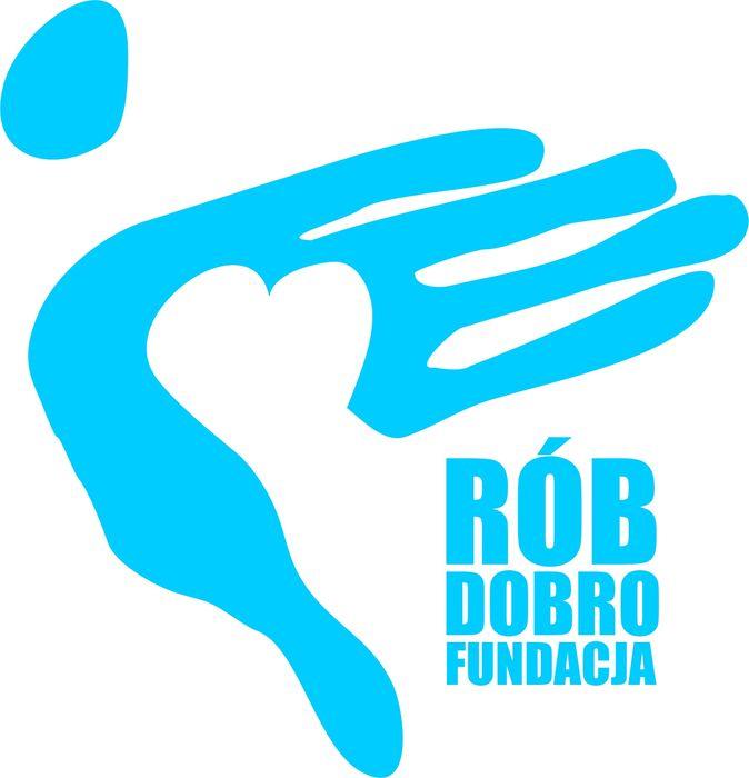 Fundacja Rób Dobro - logotyp/zdjęcie