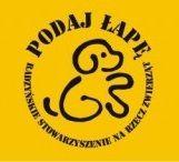 """Radzyńskie Stowarzyszenie Na Rzecz Zwierząt """"Podaj Łapę"""" - logotyp/zdjęcie"""